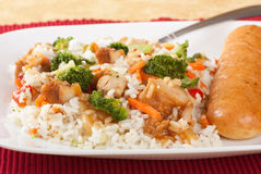 Chicken Teriyaki Stock Photography