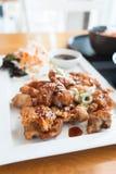 Chicken Teriyaki. In Japanese food style Royalty Free Stock Image