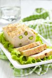 Chicken terrine with pistachios. See my other works in portfolio Stock Photo