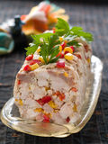 Chicken terrine Royalty Free Stock Photography