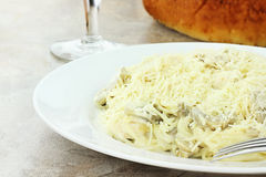 Chicken Tetrazzini Royalty Free Stock Image