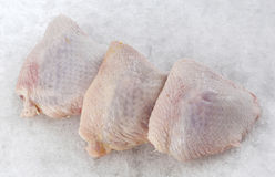 Chicken thigh Stock Image