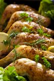 Chicken thighs Stock Photography