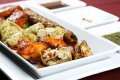 Chicken tikka Stock Photos