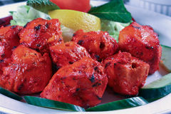 Chicken tikka Royalty Free Stock Photo
