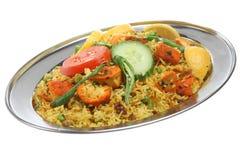 Chicken Tikka Biriani Curry Stock Photography