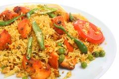 Chicken Tikka Biriani Curry Royalty Free Stock Photo