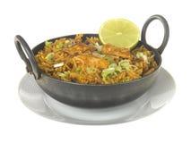 Chicken Tikka Biryani Stock Image