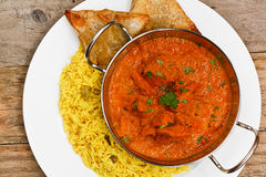 Chicken tikka masala balti dish Royalty Free Stock Photography