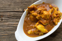 Chicken Tikka Masala curry. A dish of chicken tikka masala with turmeric and garam masala spices Stock Images
