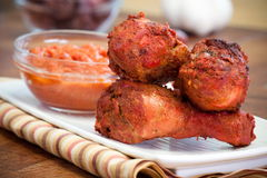 Chicken Tikka Masala Drumsticks Royalty Free Stock Photos