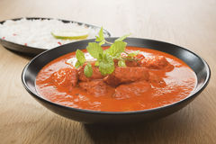 Chicken Tikka Masala Indian Curry Food Royalty Free Stock Image