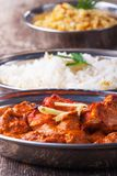 Chicken tikka masala Royalty Free Stock Photos