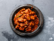 Chicken tikka masala spicy curry meat food Stock Photography
