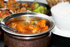 Chicken Tikka Masala Royalty Free Stock Photography