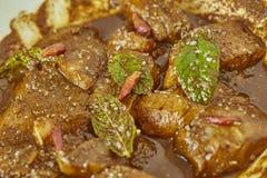 Chicken tikka massala international indian cuisine Stock Images