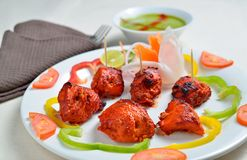Chicken tikka Stock Photo