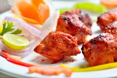 Chicken tikka Stock Images