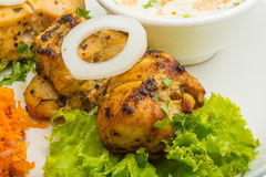 Chicken Tikka. Traditional indian food Royalty Free Stock Images