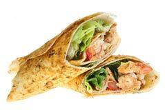Free Chicken Tikka Wrap Royalty Free Stock Image - 3952416