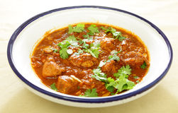 Chicken and tomato tagine stew Stock Images