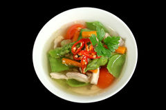 Chicken And Vegetable Soup 1 Royalty Free Stock Images