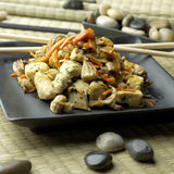 Chicken with vegetables 01 Royalty Free Stock Photography