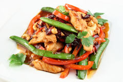 Chicken with vegetables Stock Image
