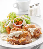 Chicken veloute Royalty Free Stock Photos