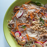 Chicken Vermicelli Bowl Stock Photography