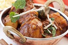 Chicken Vindaloo Stock Image