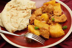 Chicken vindaloo curry Royalty Free Stock Images