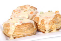 Chicken vol au vent Stock Photo