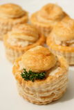 Chicken vol-au-vent Royalty Free Stock Photography