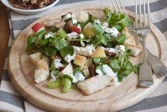 Chicken Waldorf salad Stock Image