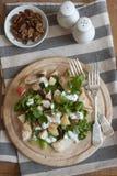 Chicken Waldorf salad stock photos