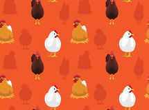 Chicken Wallpaper 2 Stock Photo