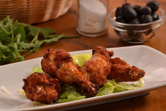 Chicken wing Royalty Free Stock Images