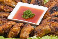 Free Chicken Wings Royalty Free Stock Photos - 1879328