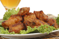 Free Chicken Wings Royalty Free Stock Images - 2942239