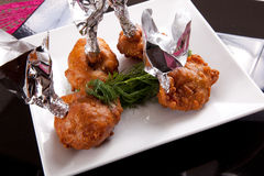 Chicken wings appetizer Royalty Free Stock Image