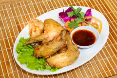 Chicken wings asia food Royalty Free Stock Photography