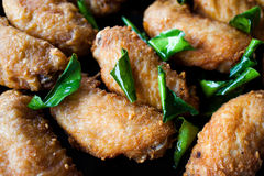 Chicken wings barbeque Royalty Free Stock Photography