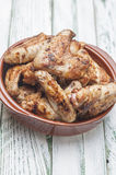Chicken Wings BBQ series 07 Royalty Free Stock Image