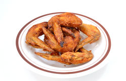 Chicken wings. Are a beautiful dish Royalty Free Stock Photography