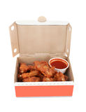 Chicken wings and dip Stock Image