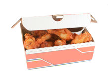 Chicken wings and dip Royalty Free Stock Photo
