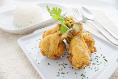 Chicken wings Fried Stock Images