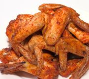 Chicken wings grill Stock Photo