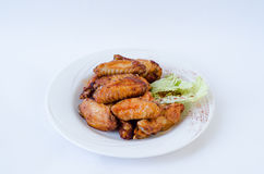 Chicken wings meat Stock Images